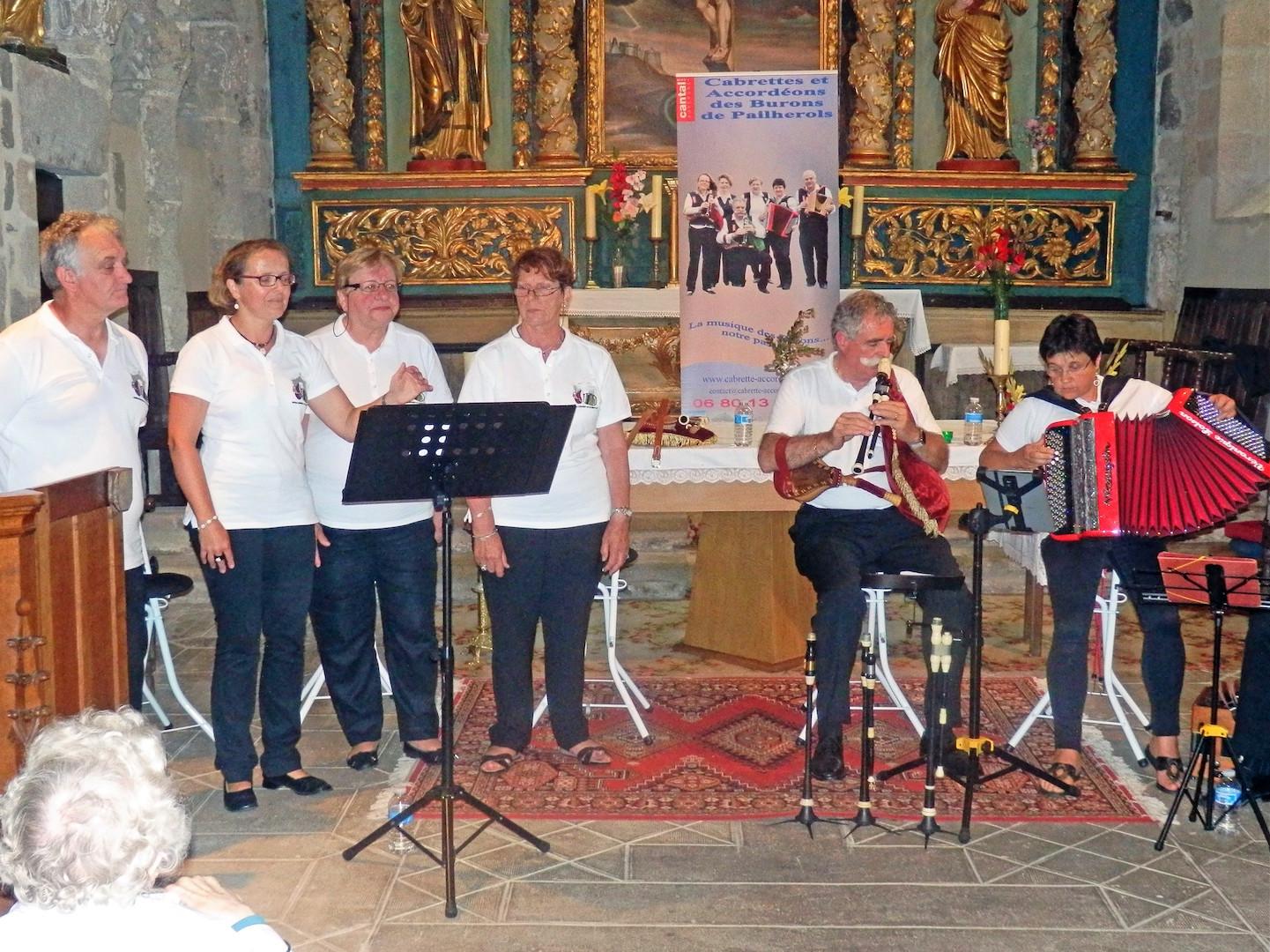 Concert Saint-Santin Cantalès