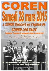 Affiche concert N°2