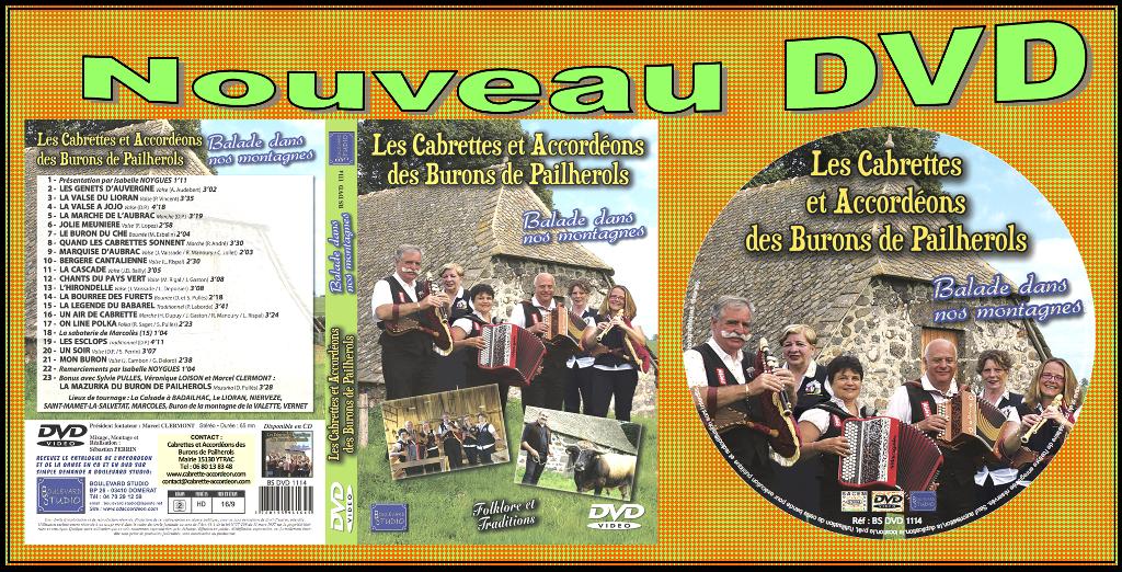 Nouveau DVD