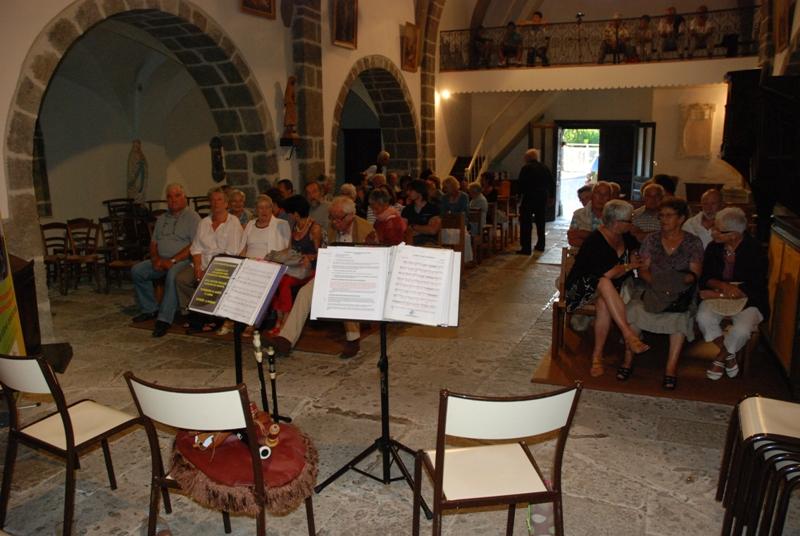 Concert St Projet de Salers