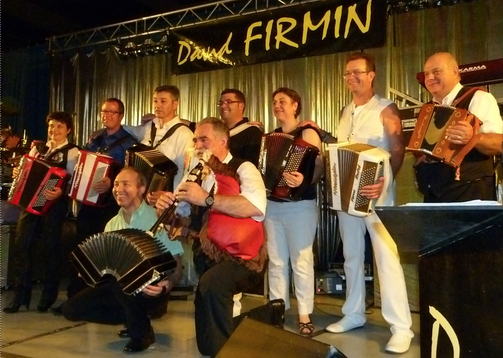 Gala d'accordéons à RIGNAC