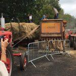 Battage du blé noir à Mauriac