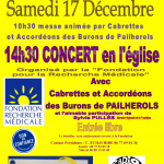 Messe et Concert à PIERREFORT