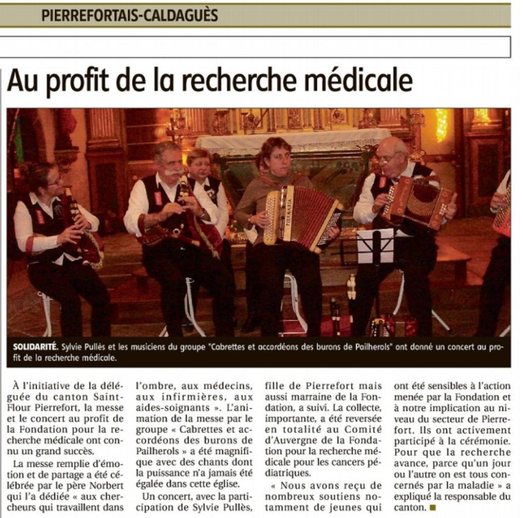 Concert pour la F. R. M