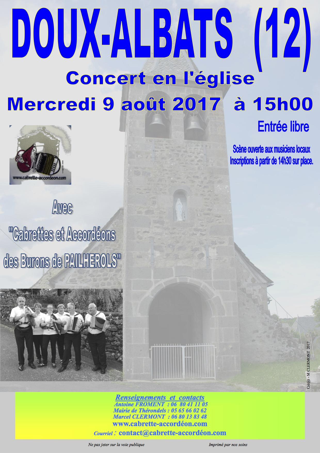 Concert DOUX-ALBATS