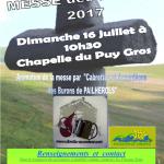 Messe des BERGERS 2017