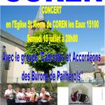 Concert en l'Eglise de COREN