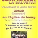 Concert Saint MAMET la SALVETAT