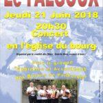 Concert au FALGOUX
