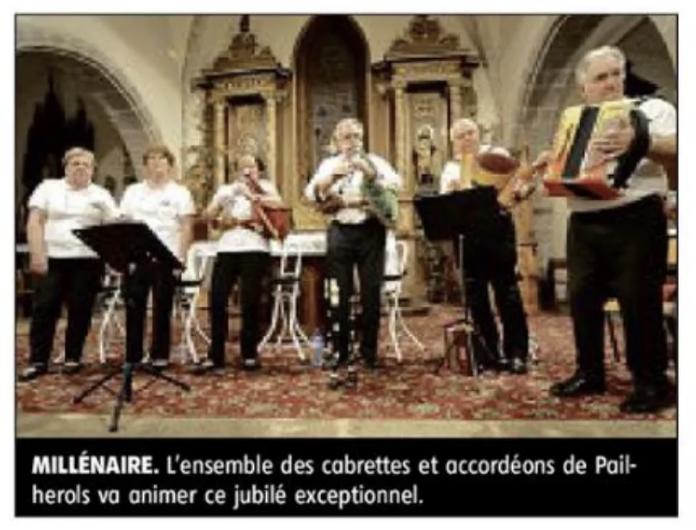 Millénaire St MAMET LA SALVETAT !
