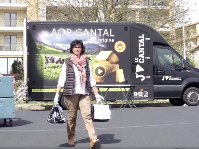 Soutiens aux Hôpitaux avec L'AOP Cantal!