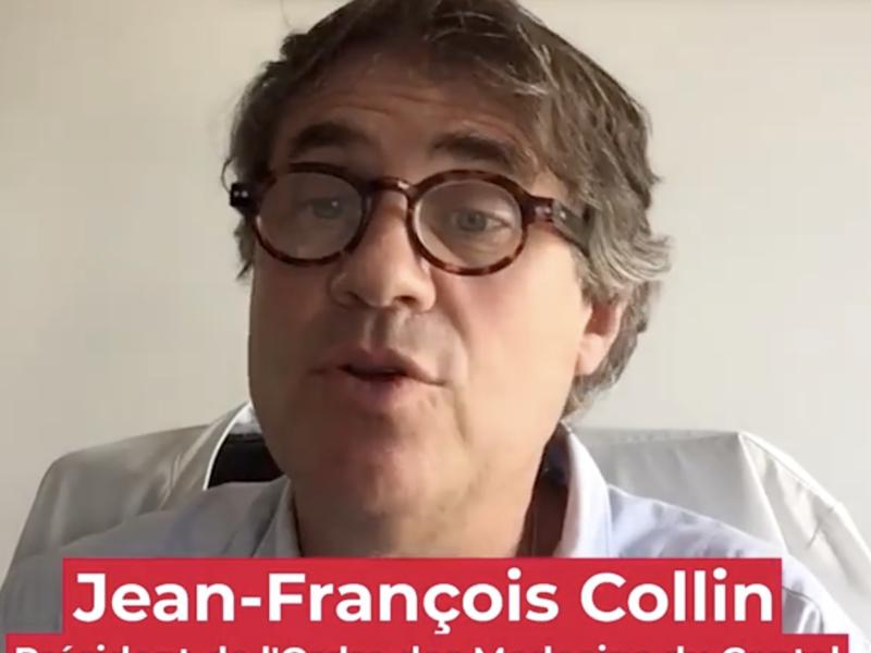 COVID-19 : Le point du 26/04 avec le dr. Jean-François Collin